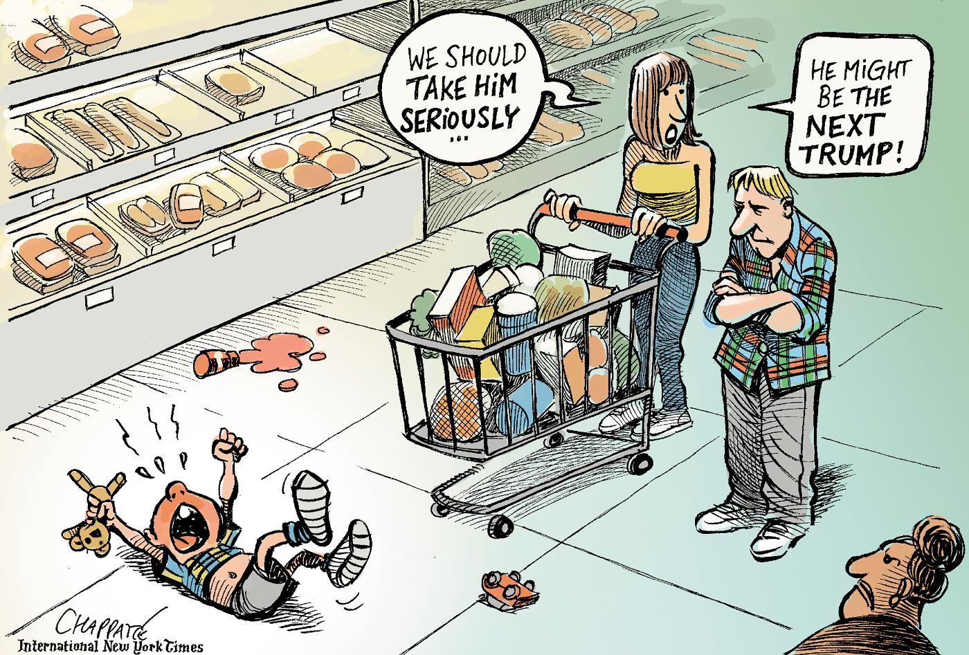 Trump character   Chappatte Cartoons